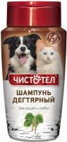 Чистотел Шампунь для кошек, собак от блох и клещей Дегтярный 220 мл. купить по низкой цене - БиоСтайл